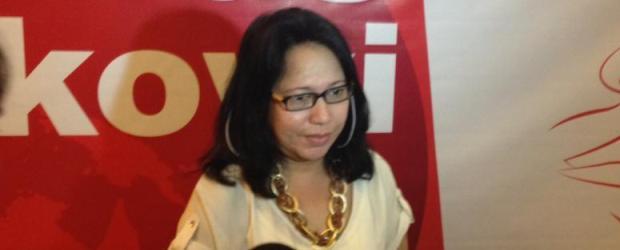 Ketua Umum Sekretariat Nasional Perempuan Pendukung Jokowi, Irene Shanty Parhusip,