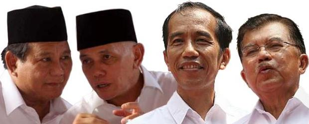 Prabowo-Hatta VS Jokowi-JK