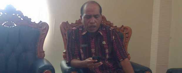 Vinsen Marung, Kepala Dinas Tanaman Pangan dan Holtikultura kabupaten Manggarai