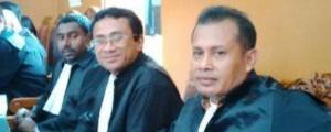 Tim kuasa hukum Zainal Abidin Bin Subrata