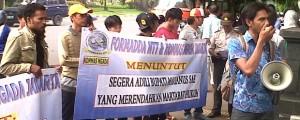 Formadda NTT dan Kommas Ngada Jakarta Gelar Aksi Terkait Kasus Blokir Bandara Turelelo-Soa, Ngada