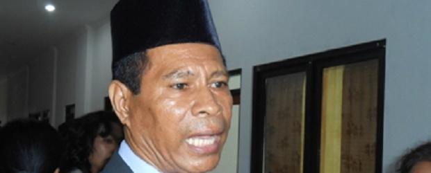 Ketua KPU NTT Johanes Depa