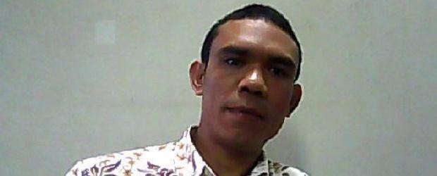 Vito Dandung, mantan aktivis mahasiswa STKIP tahun 2003-2008