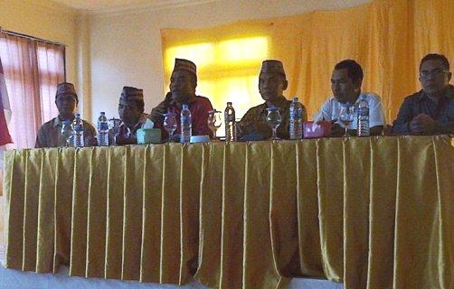 Pleno KPUD Manggarai Barat menetapkan  pasangan Ferdinandus Pantas-Yohanes Hapan menjadi calon bupati Manggarai Barat