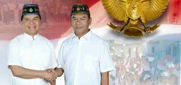 Bakal Calon Bupati dan Wakil Bupati Manggarai Barat Fidelis Pranda-Benyamin Padju tak ditetapakan menjadi calon oleh KPUD pada Senin (24/8/2015)