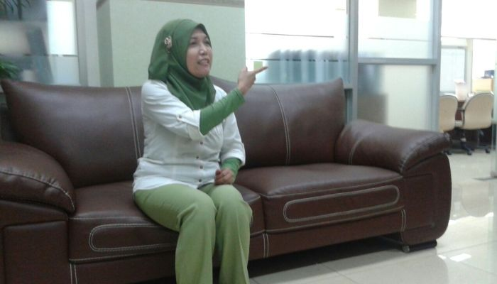 Salah satu staf di kantor BPKP Pusat yang ditemui Floresa.co