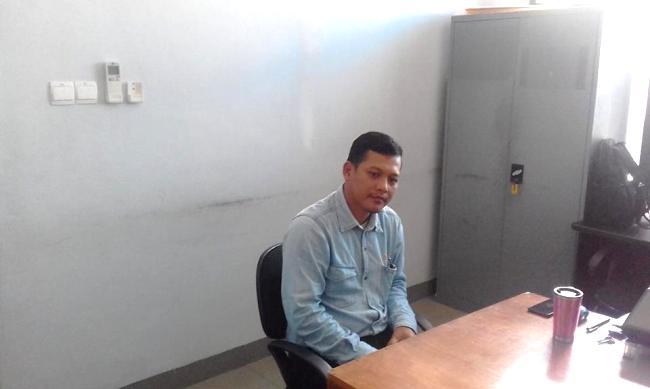 Ryan Puspratomo, Site Manager PT. Cogindo Daya Bersama (CDB) anak perusahan PT PLN yang mengelolah PLTP Ulumbu (Foto: Ronald Tarsan/Floresa)